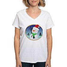 Snowman Santa Shirt