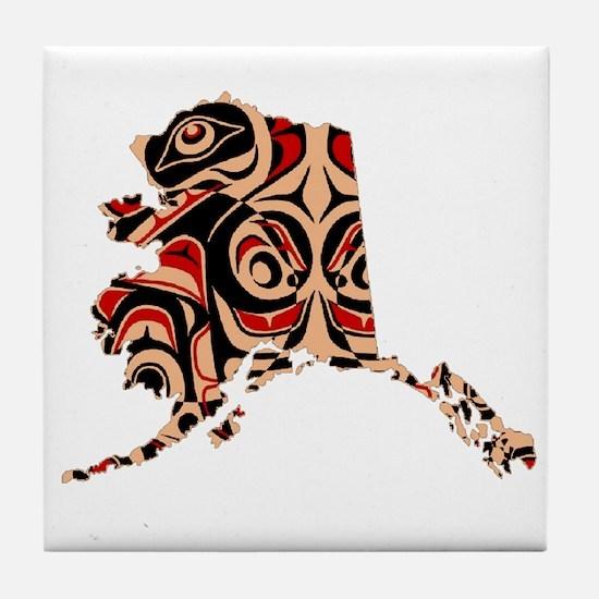 FOR ALASKA Tile Coaster