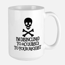 DISINCLINED Large Mug