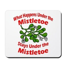 Under the Mistletoe Mousepad