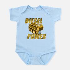 Diesel Engine Power Infant Bodysuit