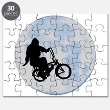 Bigfoot on bicycle Puzzle