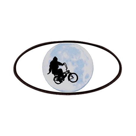 Bigfoot on bicycle Patches