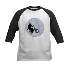 Bigfoot on bicycle Tee