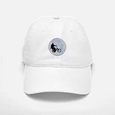 Bigfoot on bicycle Baseball Baseball Cap