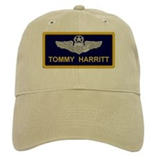 Command pilot name tag hat