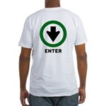 For Bottoms... ENTER Fitted T-Shirt