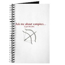 Cute Vampire hunter Journal