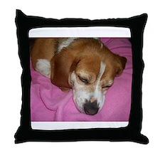 Dog Nap! Throw Pillow