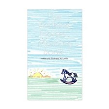 Rocking Horses Rectangle Decal