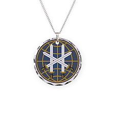 JSOC emblem Necklace Circle Charm