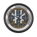 JSOC emblem Large Wall Clock