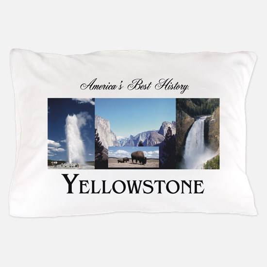 Yellowstone Americasbesthistory.com Pillow Case