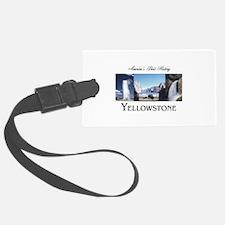 Yellowstone Americasbesthistory. Luggage Tag