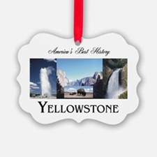 Yellowstone Americasbesthistory.c Picture Ornament