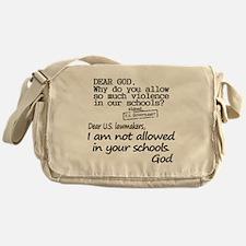 Dear God Messenger Bag