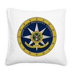 IC Seal Square Canvas Pillow