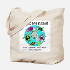 Wild Dive Buddies Tote Bag
