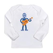 Guitar Robot Long Sleeve Infant T-Shirt