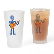 Guitar Robot Drinking Glass