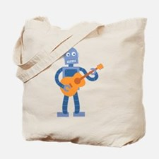 Guitar Robot Tote Bag