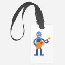 Guitar Robot Luggage Tag