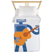 Guitar Robot Twin Duvet