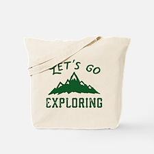 Let's Go Exploring Tote Bag