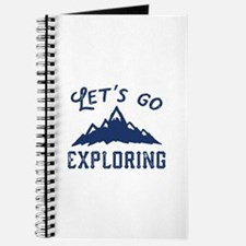 Let's Go Exploring Journal