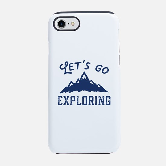 Let's Go Exploring iPhone 7 Tough Case