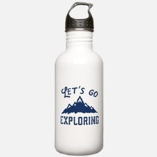 Let's Go Exploring Water Bottle