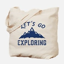 Let's Go Exploring Tote Bag