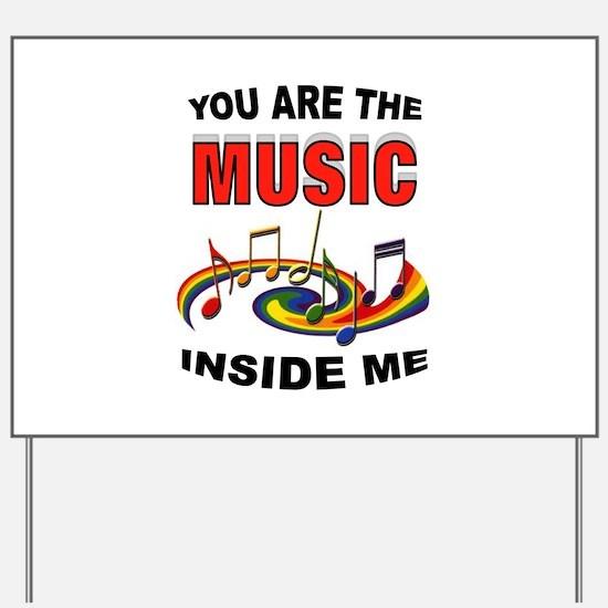MUSIC Yard Sign