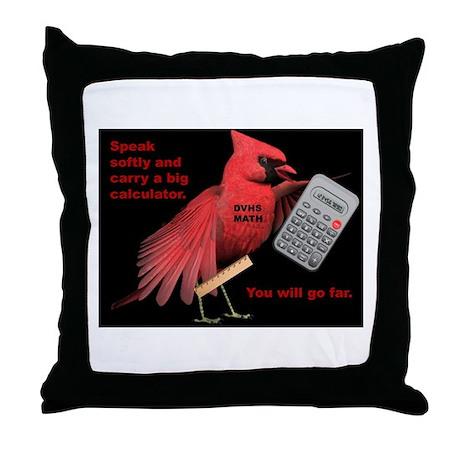 DV Math Throw Pillow