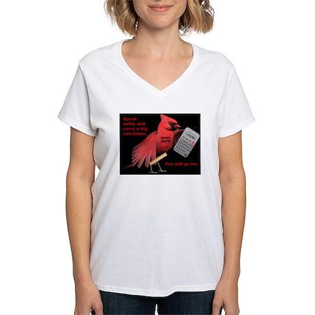 DV Math Women's V-Neck T-Shirt
