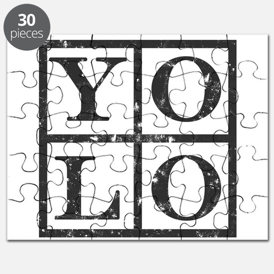Yolo Distressed Puzzle