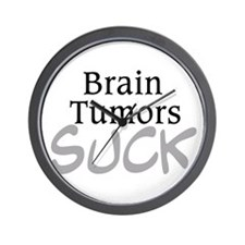 Brain Tumors Suck Wall Clock