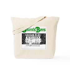 Santa's Boy's Back Tote Bag