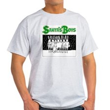 Santa's Boy's Back T-Shirt