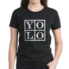 Yolo White Tee