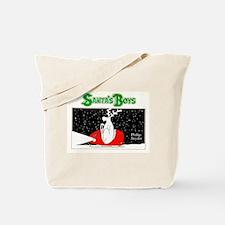 Santa's Boys Front Tote Bag