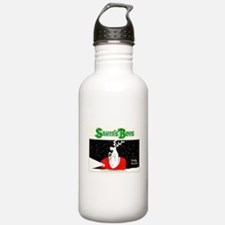 Santa's Boys Front Water Bottle