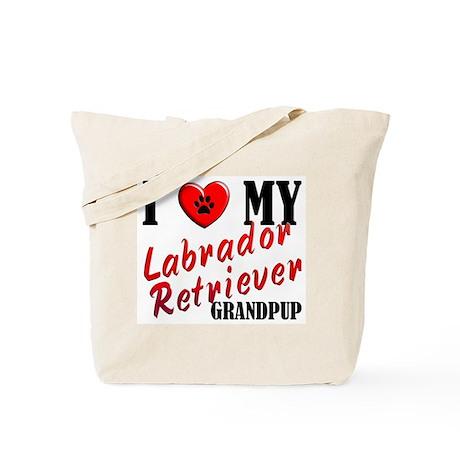 Love My Lab Grandpup Tote Bag