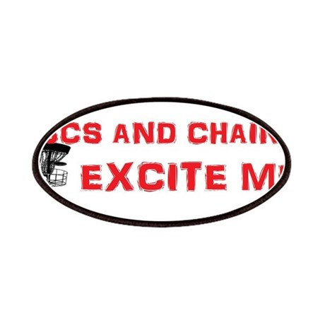 Discs and Chains Excite Me Patches