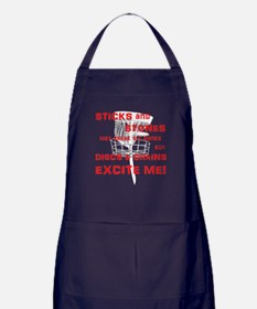 Discs and Chains Excite Me Apron (dark)