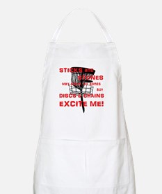 Discs and Chains Excite Me Apron