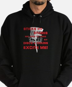 Discs and Chains Excite Me Hoodie