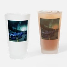 FASTER THAN LIGHTENING Drinking Glass