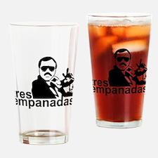 3 Empanadas Drinking Glass