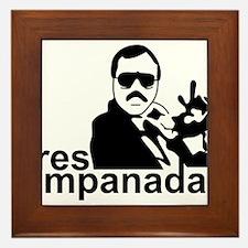 3 Empanadas Framed Tile